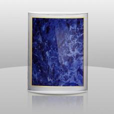 3-D Curvature Sculpture- Blue